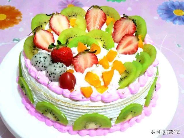 17种生日蛋糕的家常做法,在家做漂亮又好吃的生日蛋糕