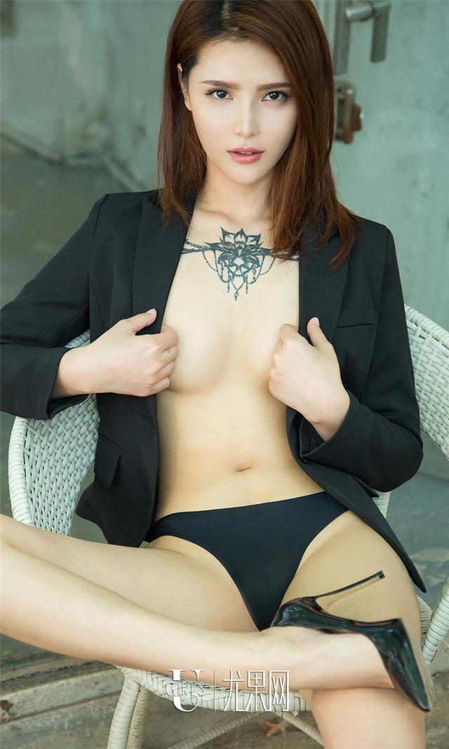 [尤果网] 纹身美眉尤娜娜性感美臀太诱人写真 第736期