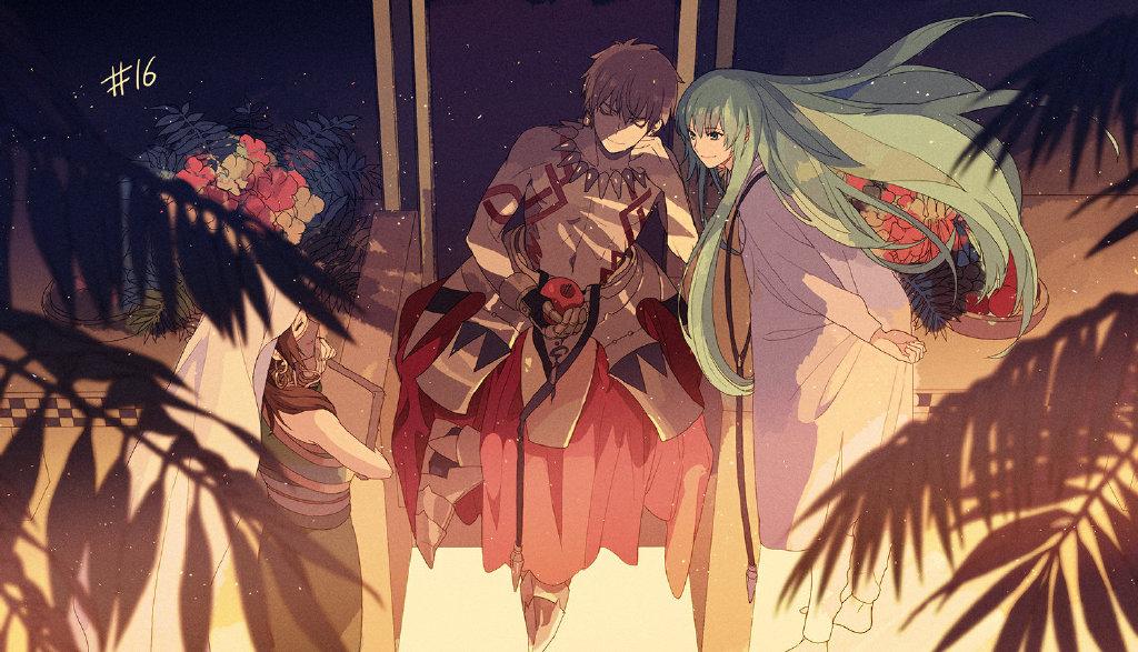 Fate Grand Order 绝对魔兽战线巴比伦尼亚 第16话特殊ED《Tell me》 Fate Grand Order ACG资讯