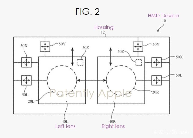 苹果获新VR/AR头显专利,专注于眼镜式设计 AR资讯 第3张