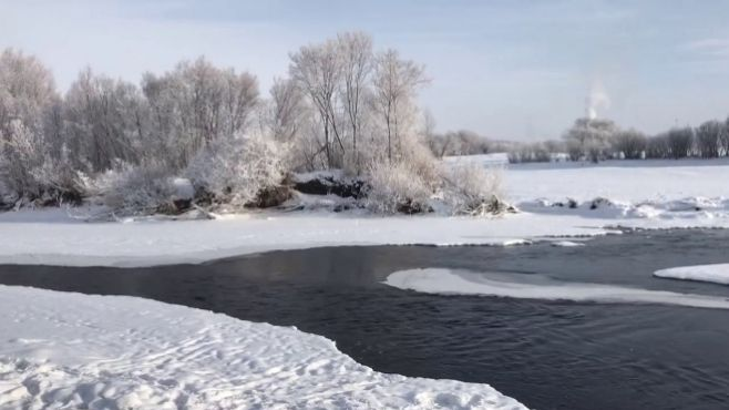 内蒙古牙克石不冻河