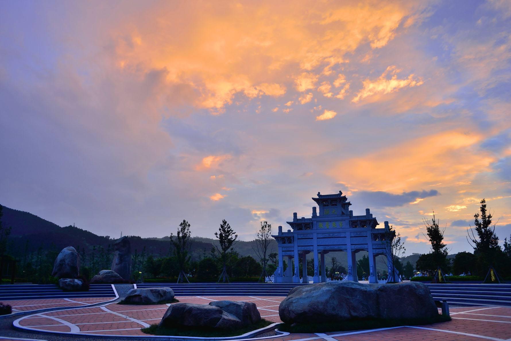 安徽九华山风景区