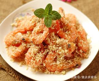 家常美食之面包糠炒虾,制作简单,鲜香爽口,口齿留香