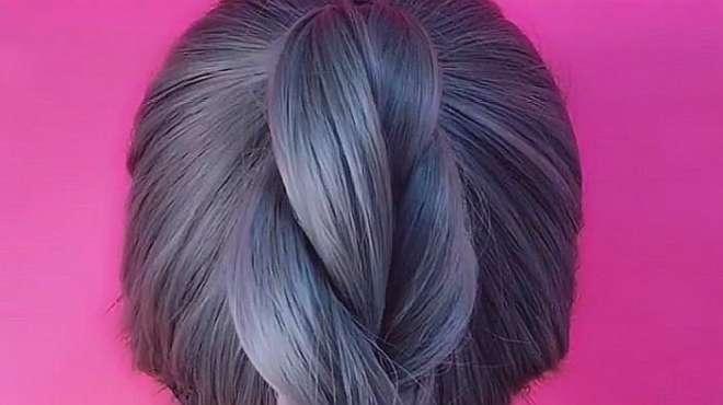 美发达人:外出爬山发型这样编时尚简单大方,轻松易学,八秒学会