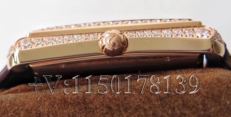 KZ厂伯爵满天星方形镶钻G0A33076,市面最高版本复刻!