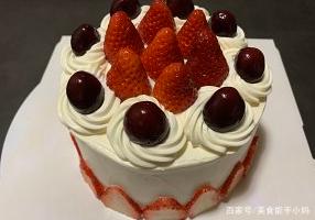 在家里就能做的生日蛋糕,比外面的还好吃!
