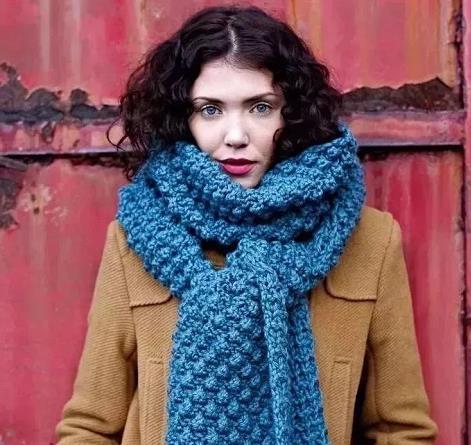 围巾这样搭配冬季才开挂,还不赶紧给我围起来!