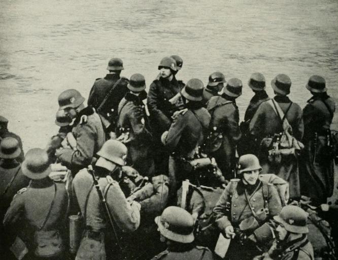 """最大胆的""""卖国者"""",德国入侵挪威,当地""""挪奸""""直接""""送""""首都-"""