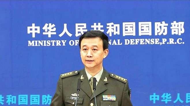 """中国国防部回应美国高官渲染""""中国军事威胁"""""""