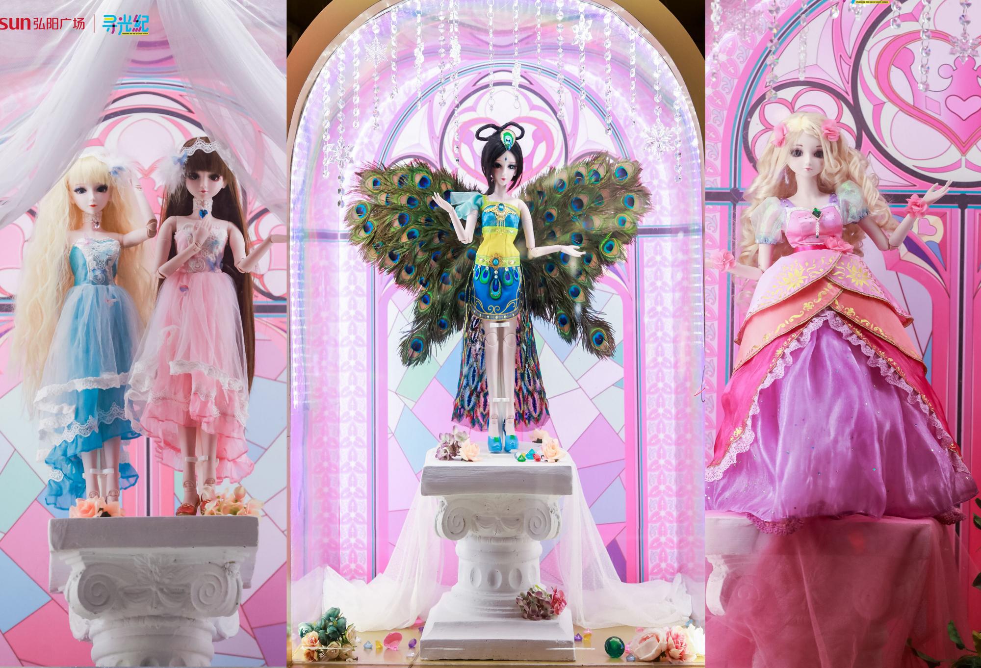 叶罗丽也有唱诗班,圣诞树上仙子挂,新款叶罗丽娃娃来亮相