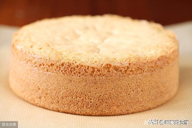 松软香甜吃不腻的《海绵蛋糕》在家也能做,老人孩子都喜欢