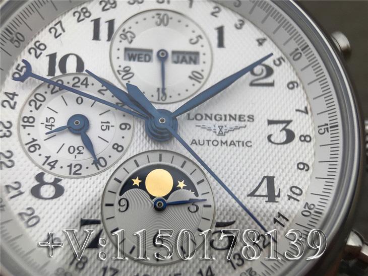 浪琴名匠月相八针复刻版返修率高不高?机芯好吗?