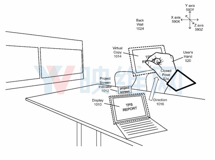 Facebook专利提出VR世界远距离对象交互解决方案 AR资讯