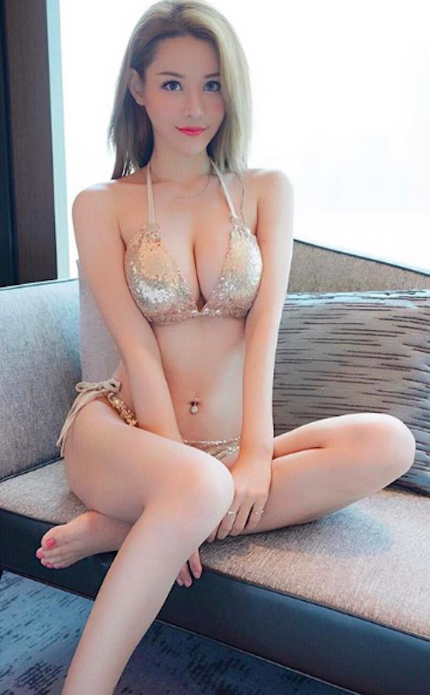 [人物]巨乳撑开衣服囉!身高170cm的性感女神「E级奶量」