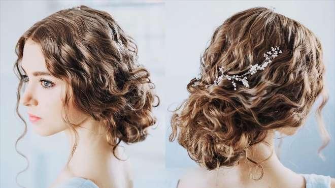 这款时尚魅力新娘发型,很吸引眼球哦