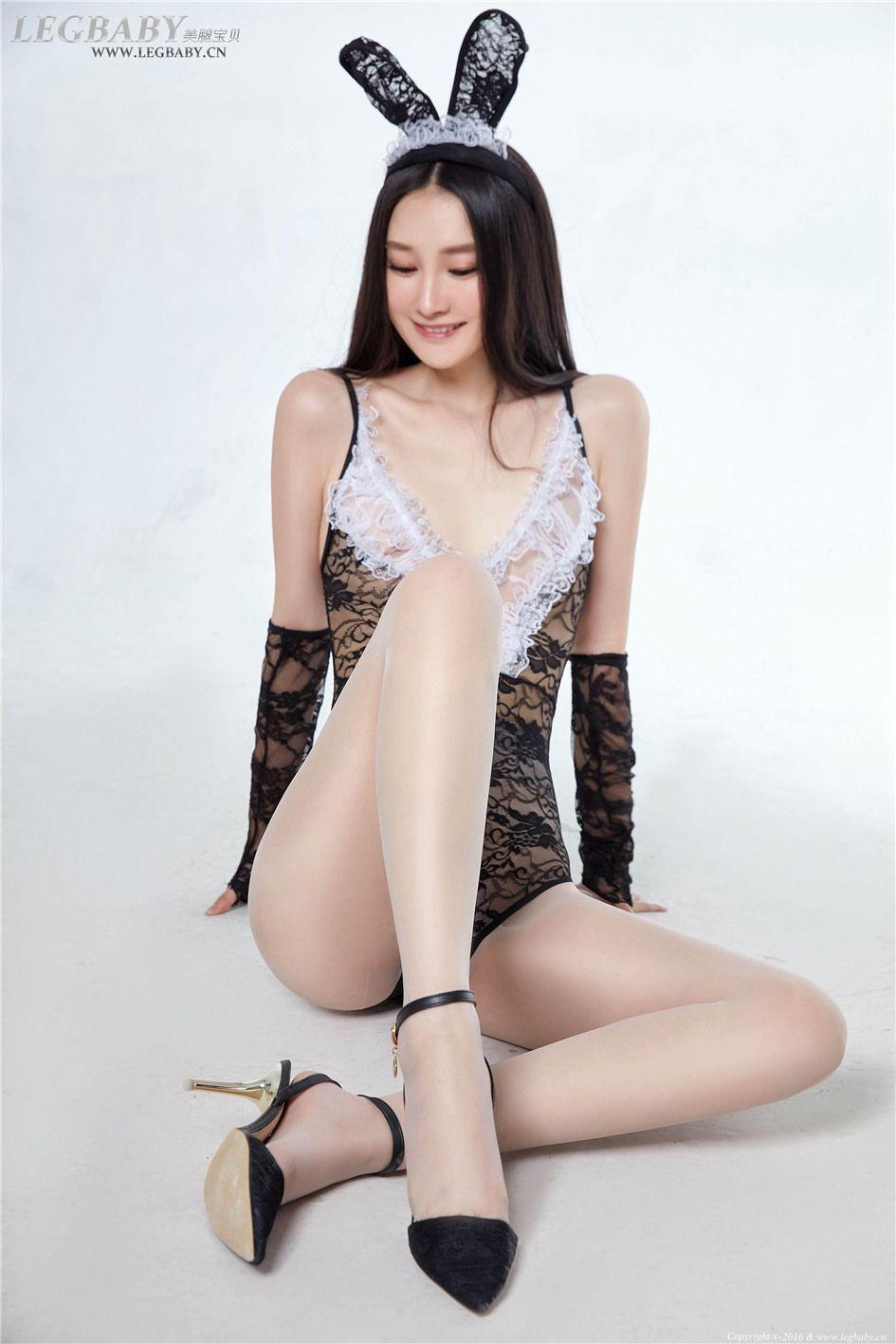 [美腿宝贝] 肥臀美腿丝袜美女潇潇 NO.027 芭蕾舞裙写