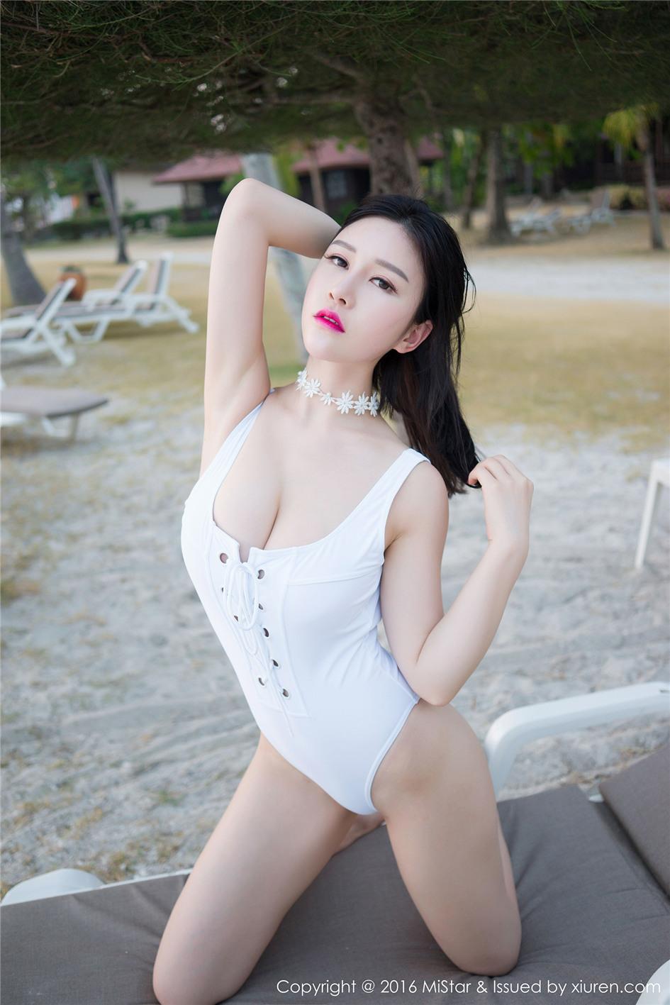 [魅妍社] 高颜值美女于姬Una旅拍清纯写真图片 Vol.0
