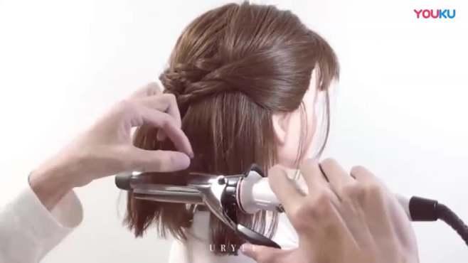短发新娘发型,短发的你不妨试试这样扎新娘发型,再穿上礼服好看