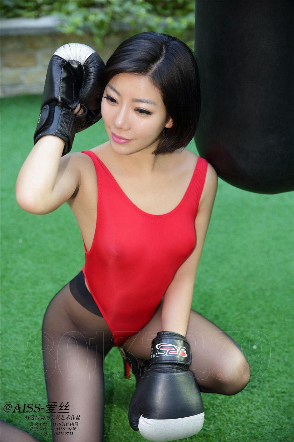 [爱丝]美女丝袜图片第056期萱萱