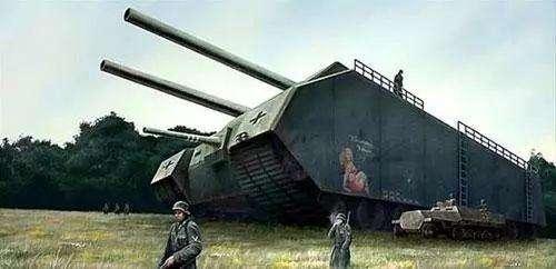 """鼠式坦克:重量188吨的坦克,却能够""""隐身""""-"""