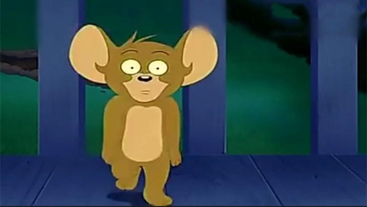 """猫和老鼠:被""""删减""""的一集,外星人入侵,最后汤姆杰瑞逃离地球"""