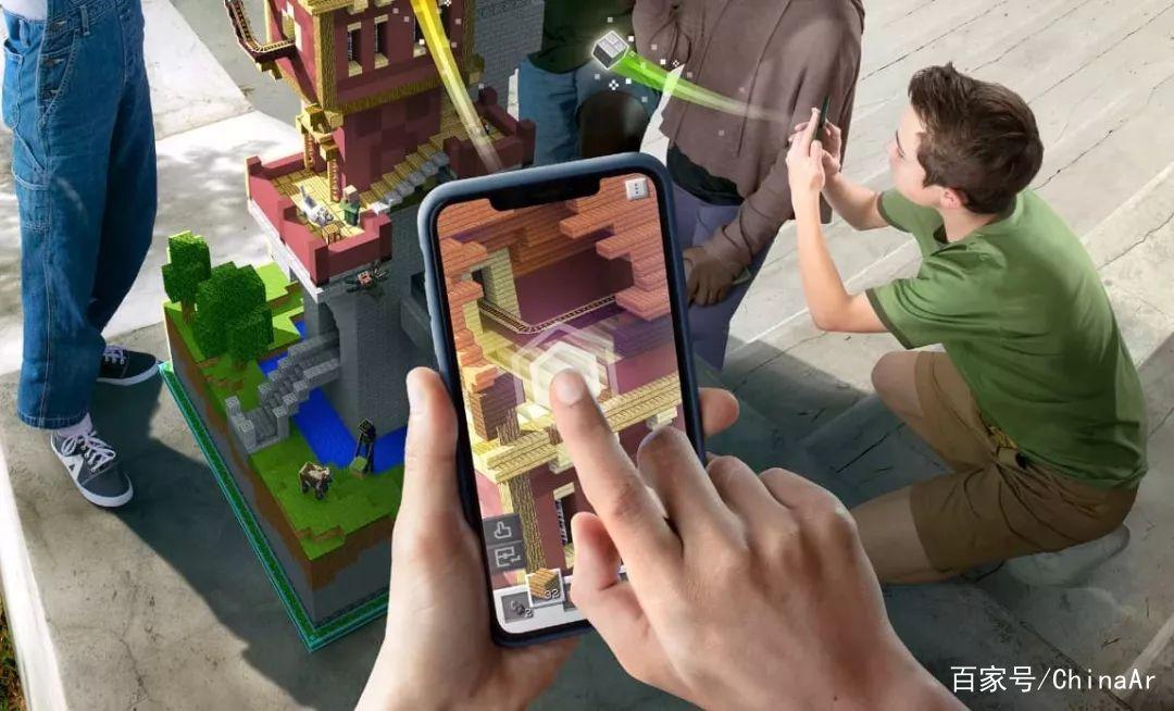 微软推出AR版Minecraft 让你改造无趣现实世界 AR资讯 第4张
