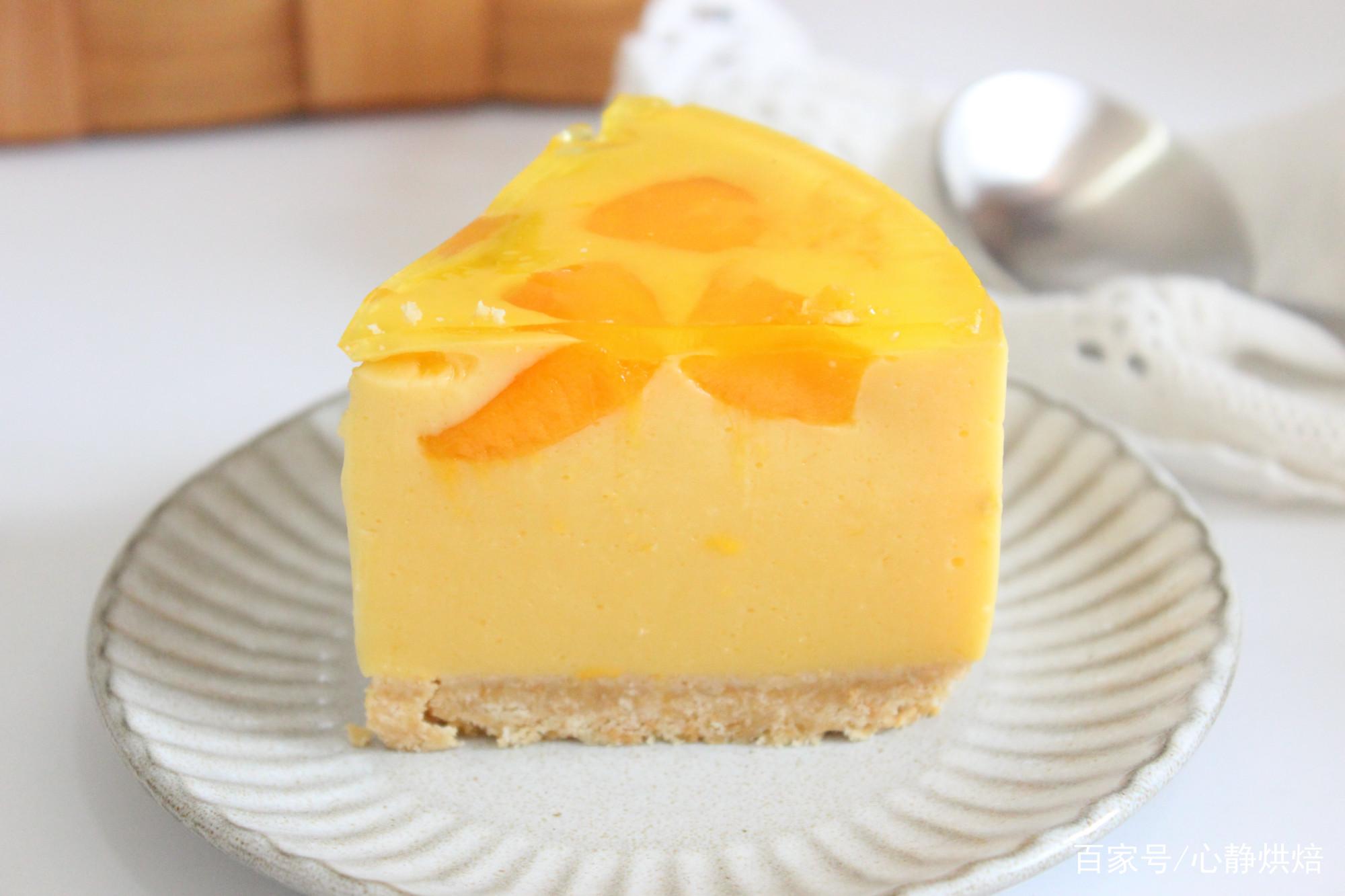 不用烤箱就能做的芒果酸奶慕斯蛋糕,Q弹爽口比雪糕还好吃