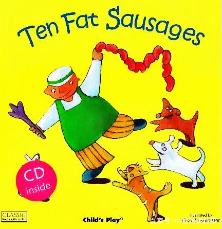 英文绘本:Ten fat sausages(十只胖香肠)