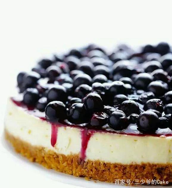 风靡欧美的蓝莓乳酪,推荐收藏
