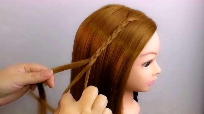上班不知道怎样扎头发好看的妹子看过来!自己轻松就能搞定的发型