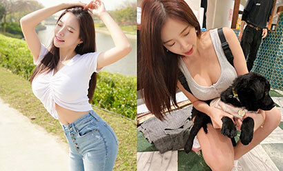"""全亚洲最胸DJ""""蓝星蕾""""特别视角引人遐想!衣服完全包不住"""