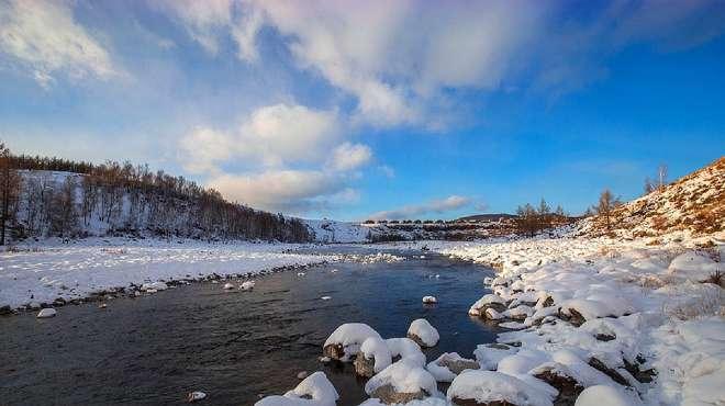 内蒙古阿尔山最奇特的河流,零下三十度不结冰