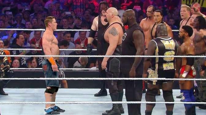 WWE经典皇家大战30人淘汰赛约翰塞纳强势夺冠!