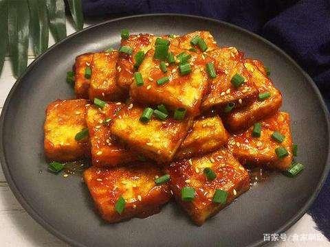 糖醋脆皮豆腐,超级下饭,快点学起来,不然就找不到了啊