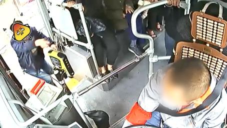 四川一男子没赶上公交,竟打车追截殴打司机,被拘5日