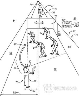 环球影业申请多人VR系统专利,布局VR大空间体验 AR资讯 第2张