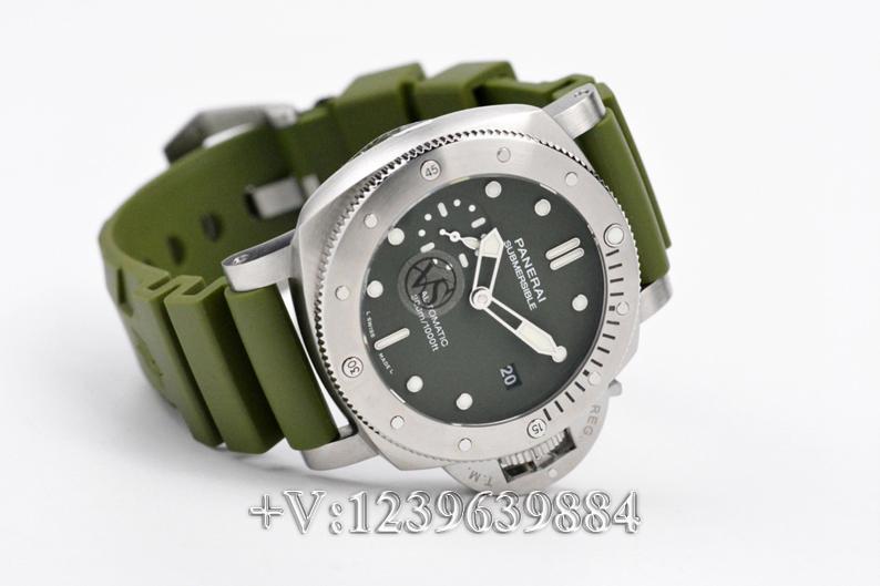 对比:VS厂沛纳海1055绿鬼王42mm,值不值得入手?插图3