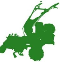 #大姜种植#大姜如何小培土施肥?小型培土机,开沟培土小全能!