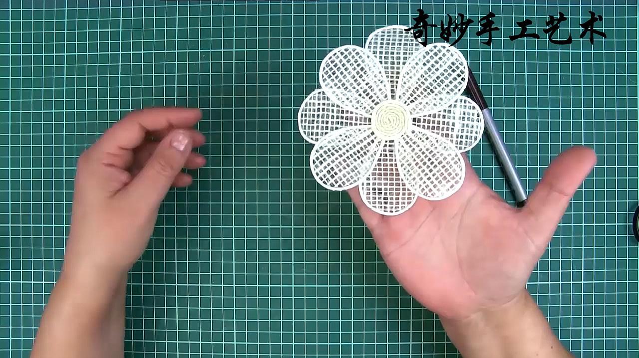 簡單手工,好看的手工花瓣花朵裝飾製作,裝飾自己的家用心去生活