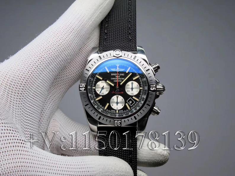 GF厂百年灵熊猫飞行员AB01442J,多少钱值不值入手?