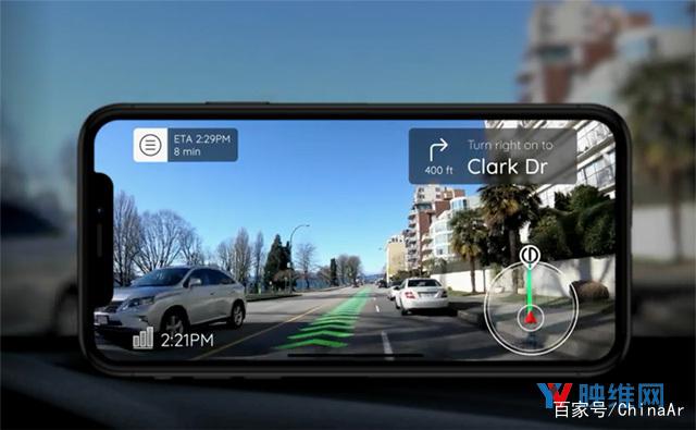 Phiar完成300万美元种子融资,提升手机AR的汽车导航能力 AR资讯