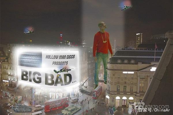 英国说唱艺术家Giggs利用AR技术宣传新专辑 AR资讯 第2张