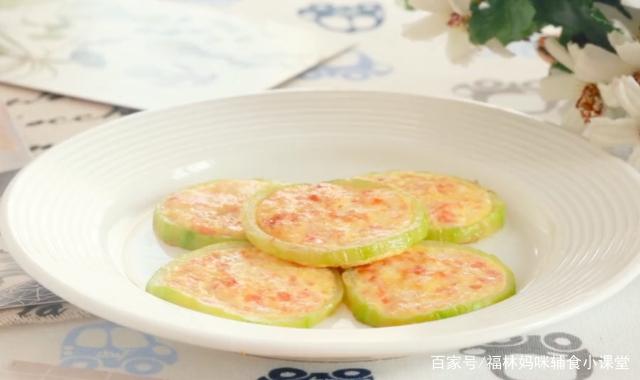 造型可爱的西葫芦虾饼,宝宝抓着吃,肉菜蛋一起进小肚子