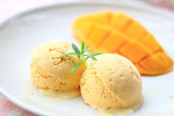 这个夏天香浓软糯的,芒果香蕉冰激凌来袭