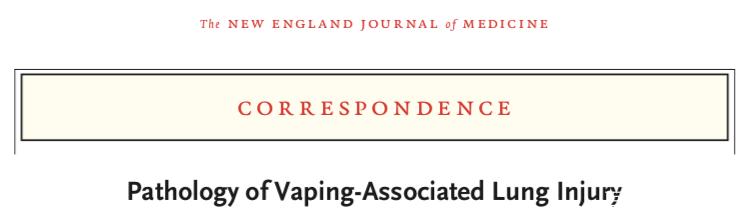 电子烟相关肺损伤大爆发!背后影藏了什么?
