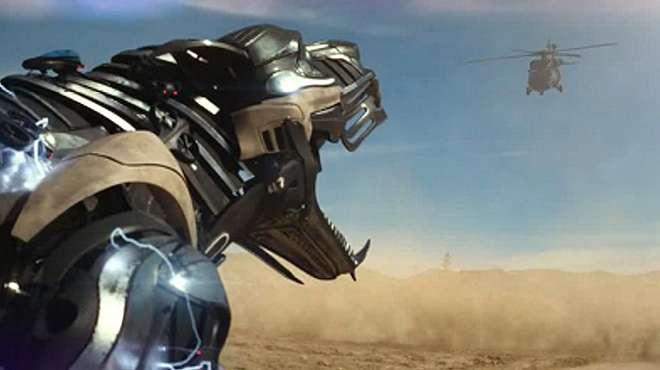 机器狗为救主人,单挑军方上千架飞机,科幻电影《机器猛犬》