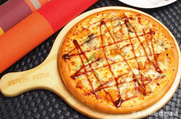 美味披萨,西式风味,新奇的口味