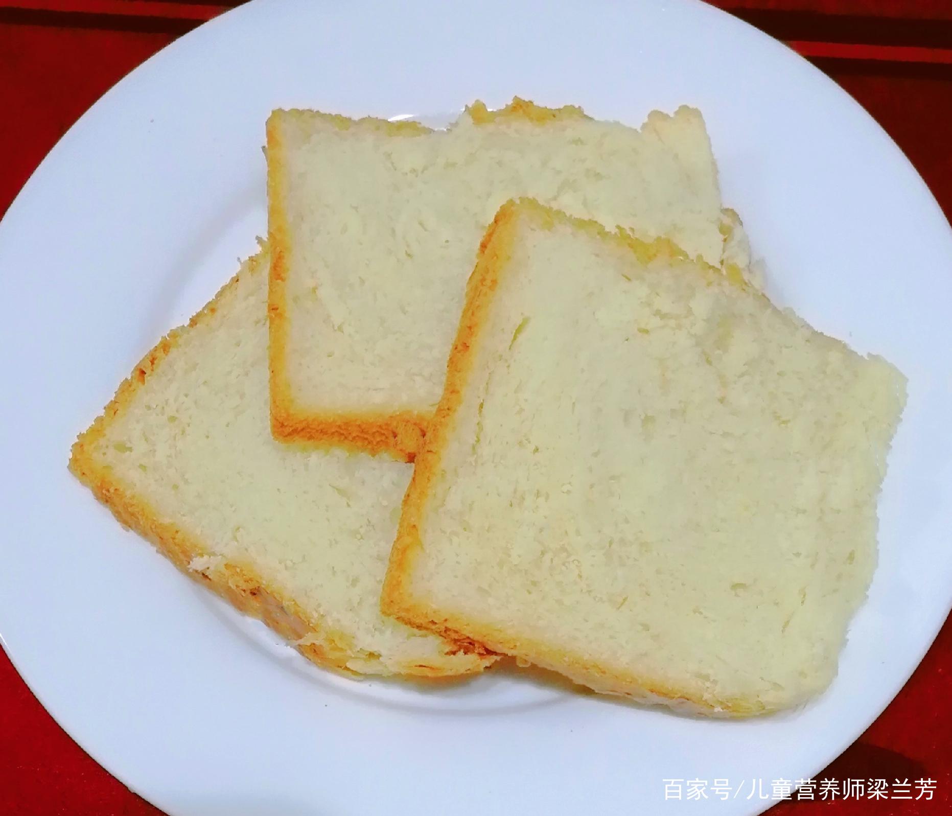 奶香吐司面包,在家自己就能做的美味,非常松软好吃,奶香浓郁