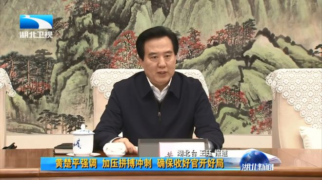 黄楚平当选湖北省政协主席