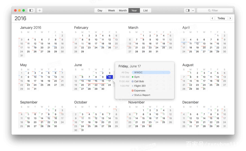 日历应用程序BusyCal for Mac